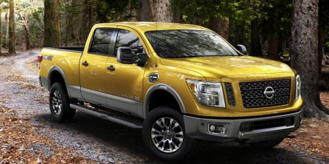 2016 Nissan Titan XD : Pick-up for the US debuts Cummins turbo diesel V8