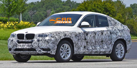 BMW X4 prototype spied in the metal