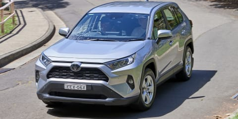 Toyota RAV4 recalled for fault in crucial suspension component