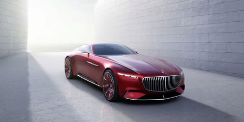 Vision Mercedes-Maybach 6 concept leaked ahead of debut