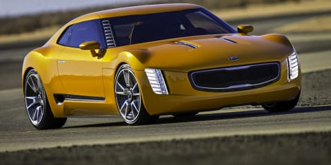 "Kia GT4 Stinger : ""aggressive"" sports car concept unveiled"