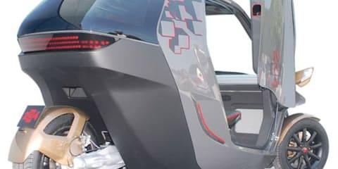 KTM E3W plastic three-wheeler concept unveiled