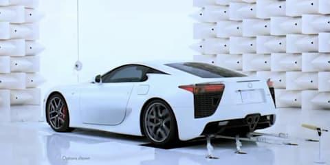 Video: Lexus 'The hard way' - Lexus LFA engine tuning