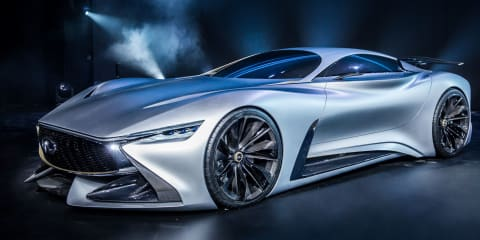 Infiniti Concept Vision Gran Turmiso makes transition from video game to real life