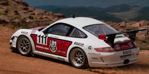 Video: Porsche 911 GT3 Cup breaks Pikes Peak Hillclimb record
