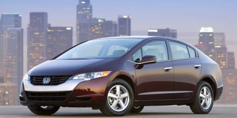 Honda FCX Clarity hydrogen fuel cell car