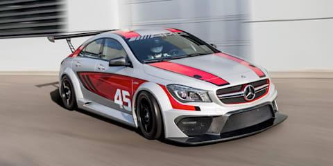 Mercedes-Benz CLA45 AMG Racing Series concept signals GT3 goal