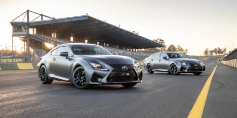 2018 Lexus RC F, GS F limited edition pricing and specs