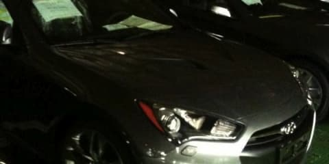 2012 Hyundai Genesis Coupe spotted in factory