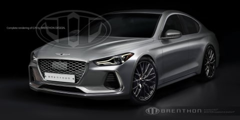 Genesis G70 rendering takes a punt at what's to come