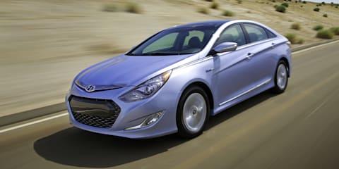 Hyundai i45 hybrid & turbo announced
