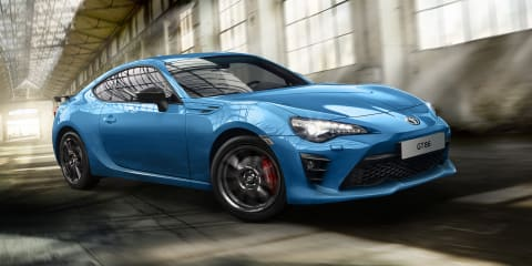 Toyota GT86 Club Series Blue Edition revealed for the UK