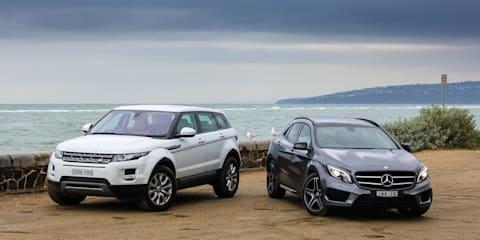 Mercedes-Benz GLA-Class v Range Rover Evoque : Comparison Review