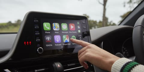 Toyota: Apple CarPlay retrofit $199 for selected models