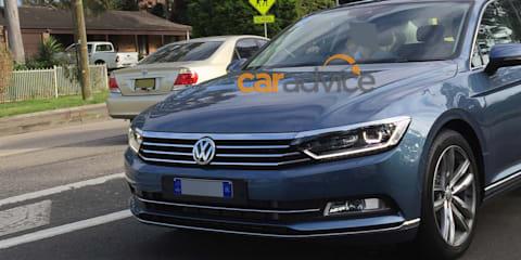 2016 Volkswagen Passat spied in Sydney ahead of Australian launch