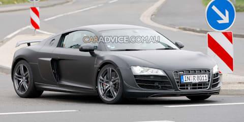 2010 Audi R8 V10 Clubsport spy pics