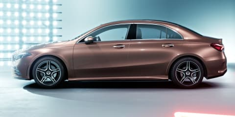 2018 Mercedes-Benz A-Class L sedan unveiled