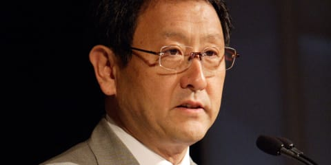 Akio Toyoda airs concerns over Toyota