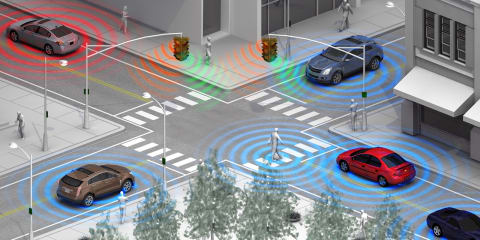 GM developing pedestrian safety technology that spots smartphones