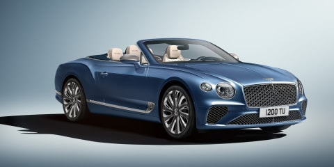 Bentley Continental GT Mulliner Convertible revealed
