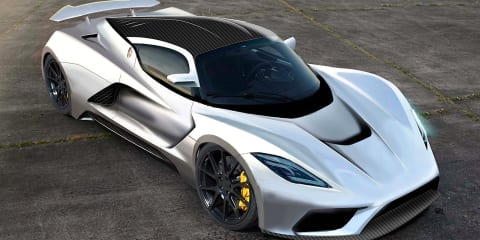 Hennessey Venom F5 targets 467km/h record