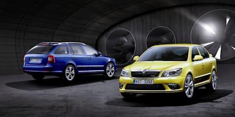 Škoda reveals new Octavia vRS & Scout