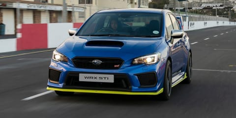 Subaru WRX STI Diamond Edition revealed for South Africa