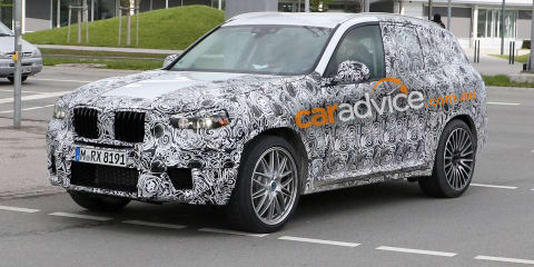 2017 BMW X3 M spied:: big M power coming to mid-sized SUV