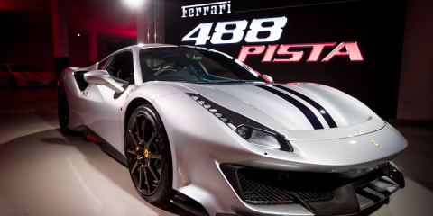Ferrari 488 Pista: Australian debut for new hero