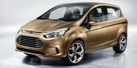 2013 Ford B-MAX Concept Geneva preview
