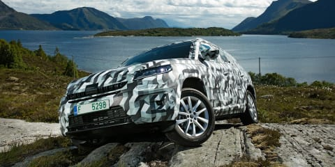 Skoda Kodiaq teased, initial details revealed