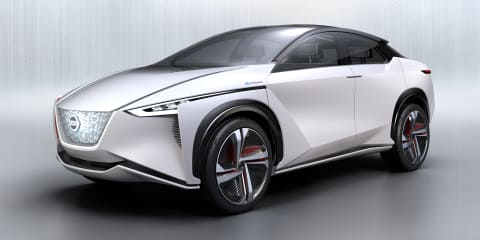 Nissan EV SUV previewed to US dealers