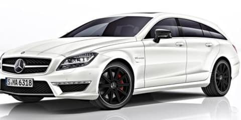 Mercedes-Benz CLS63 AMG Shooting Brake: 410kW for performance wagon