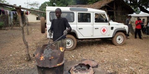 Land Rover to support Red Cross for the next 3 years