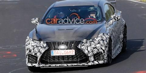 Lexus RC F 'GT' spied at the Nurburgring