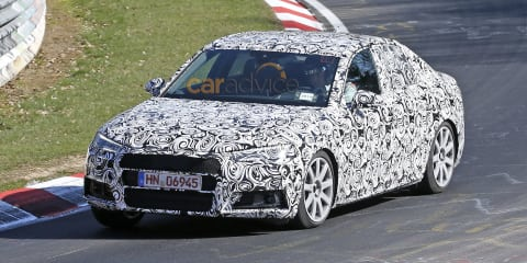 Audi S4 sedan and Avant spy photos