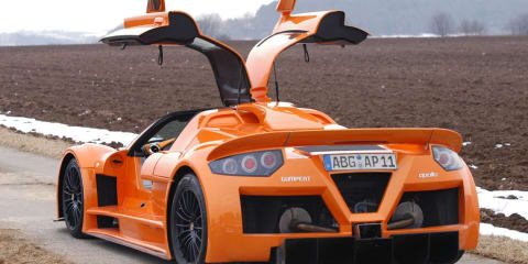 Gumpert runs out of money