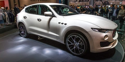 2017 Maserati Levante unveiled, Australian launch locked in
