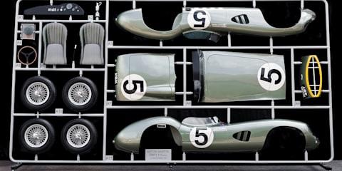 Aston Martin DBR1 Le Mans winner immortalised as life-sized DIY model