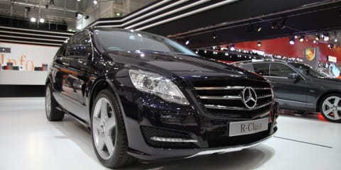 Mercedes-Benz R-Class at 2010 AIMS