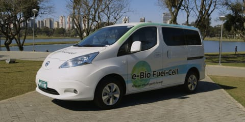 Nissan e-Bio Fuel-Cell:: first solid oxide fuel-cell van debuts
