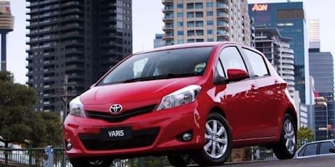 2011 Toyota Yaris facelift hits Australia