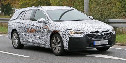 2018 Holden Commodore Sportwagon spied