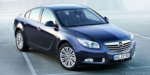 2012 Opel Insignia revealed ahead of Australian launch