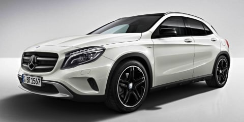 Mercedes-Benz GLA Edition 1: limited edition compact SUV revealed