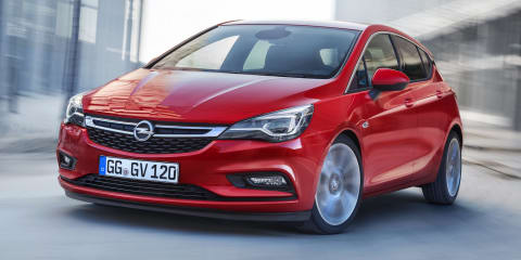 Holden Astra hatch to shoot for the pointy end of the sales charts