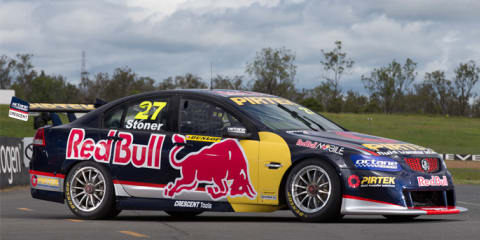 Casey Stoner, Red Bull Racing Australia unveil Holden V8 Supercar