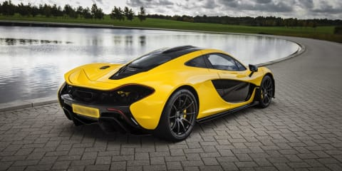 McLaren P1: official figures claim 0-100km/h in 2.8 seconds