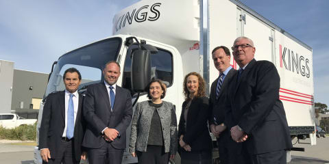 SEA Automotive delivers first electric trucks in Victoria