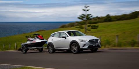 Mazda CX-3: The ideal jet-ski tow car?